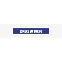 SEÑALIZACION ADHESIVO PARA SUELO-ESPERE SU TURNO-