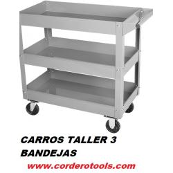 CARRO 3 BANDEJAS MEDIDA 85X38X78CM CON RUEDAS