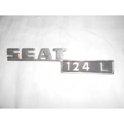 ANAGRAMA TRASERO SEAT 124L