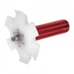 Enderezador de aletas de radiador